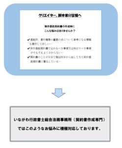 制作委託契約書作成ガイド